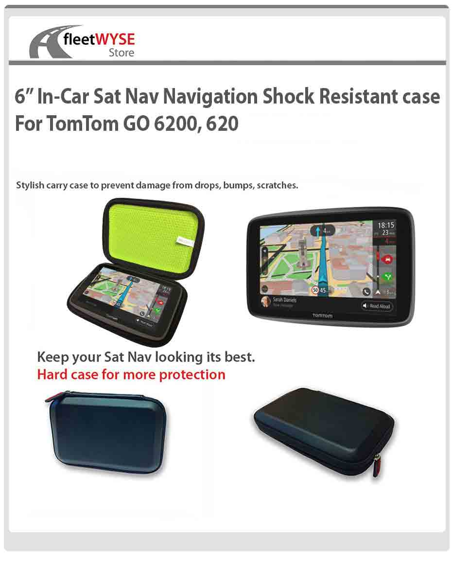 6 in car satnav navigation shock resistant case for. Black Bedroom Furniture Sets. Home Design Ideas